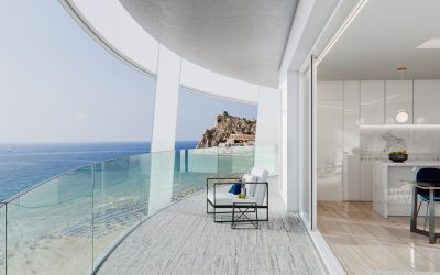 There has been sold the most expensive apartment in the history of Benidorm.